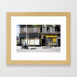 Pawn Shop Framed Art Print