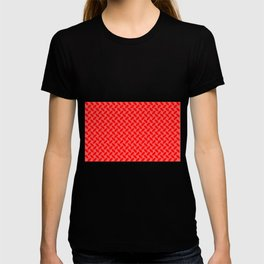 Red Tread Style Background T-shirt