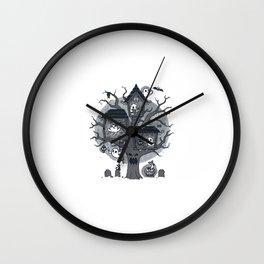 Halloween Clubhouse Wall Clock