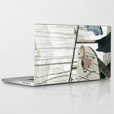 Winter Breakfast on the Porch Laptop & iPad Skin