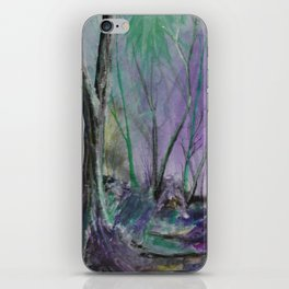 Magic Forest Are Just a Little Bit Haunted iPhone Skin