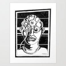 Mr. K - Mugshot Art Print
