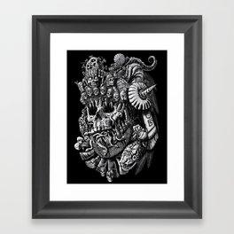 Mictlantecuhtli Framed Art Print