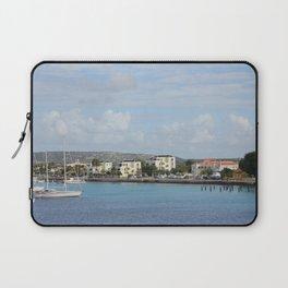 Bonaire Kralendijk Harbor Sailing Boats Laptop Sleeve