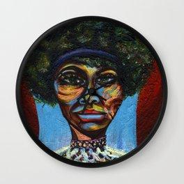 "Eunice ""Nina Simone"" Waymon Wall Clock"