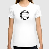 volleyball T-shirts featuring Volleyball - Balls Serie by Brigada Creativa