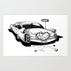 Just Divorced! Art Print