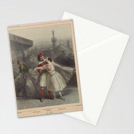 Bertauts Engraver ChallamelLa peri Stationery Cards