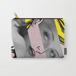 "Roy Lichtenstein's ""Hopeless"" & Bette Davis Carry-All Pouch"