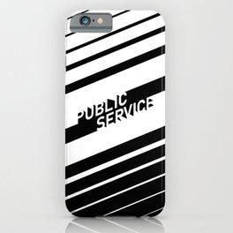 Public Service Co iPhone Case
