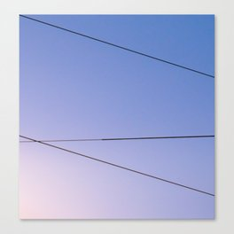 Some Lines Intersect Canvas Print
