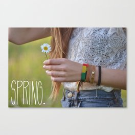 Waiting for Summer Canvas Print
