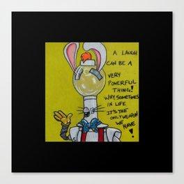 Servo Rabbit Canvas Print