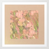 peony Art Prints featuring Peony  by Armin