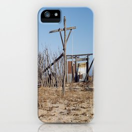 Makeshift Mexico Cross, 2007 iPhone Case