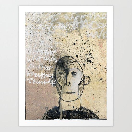 Chatterbox Art Print
