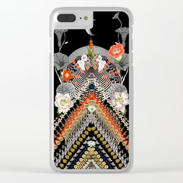 Chevron Valley Clear iPhone Case