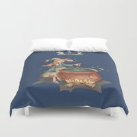 witch Duvet Covers featuring Witch by Catru