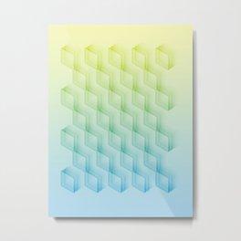 Miopia Metal Print