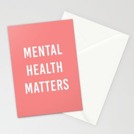 Mental Health Matters VI Stationery Cards