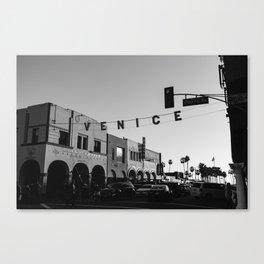 Venice Beach California V Canvas Print
