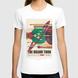 NASA Visions of the Future - The Grand Tour, a Once in a Lifetime Getaway T-shirt