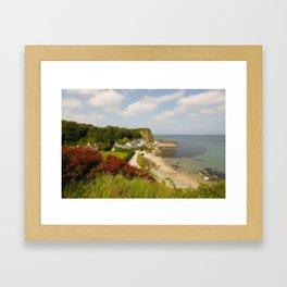The Little Port Framed Art Print