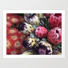 Chelsea Flower Market New York City Art Print