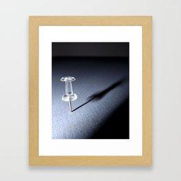 Thumbtack  Framed Art Print
