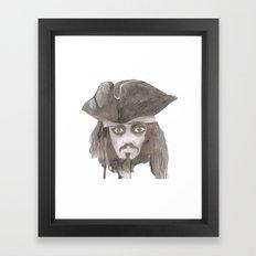 Captain Jack Sparro Framed Art Print