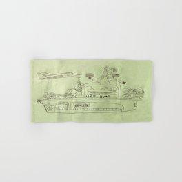 The USS Ryan Carrier Hand & Bath Towel