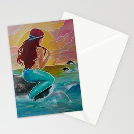 Tropical Tails Stationery Cards
