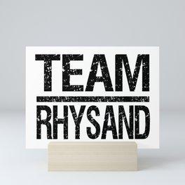 Team Rhysand Mini Art Print