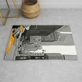 NYC - Yellow Cabs - The City Rug