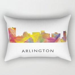 Arlington Texas Skyline Rectangular Pillow