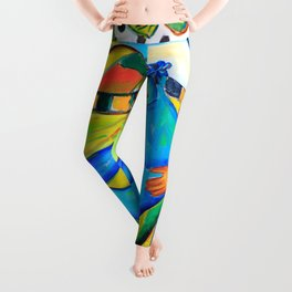 Il conforto dell'artista - the artist's comfort Leggings