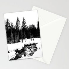 St. Helens Snowshoe + River Stationery Cards