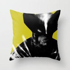 Logan the X-Man Throw Pillow