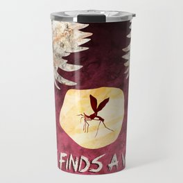 Life Finds A Way, Jurassic Park Fan Poster Travel Mug