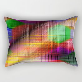 colourful linings II Rectangular Pillow