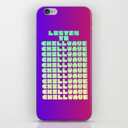 Chillwave iPhone Skin