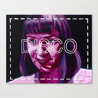 disco Canvas Prints featuring Disco by Jared Yamahata