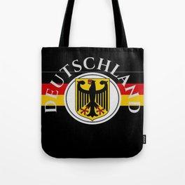 Deutschland ...German Flag and Eagle Tote Bag