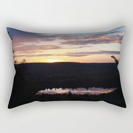 Sunset Hike #3 Oberg Rectangular Pillow
