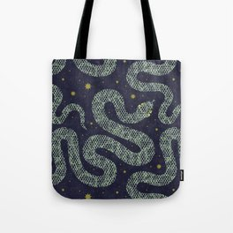 Space Serpent Tote Bag