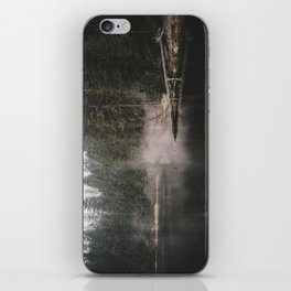 In the Fog - Landscape Photography iPhone Skin