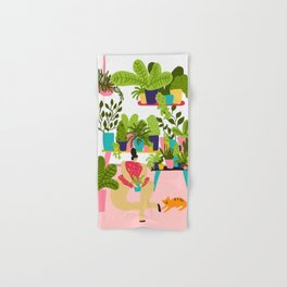 Love Plants Hand & Bath Towel