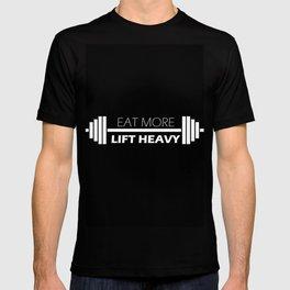 Eat More, Lift Heavy T-shirt