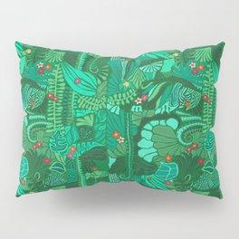 Tropical Forest Green Pillow Sham