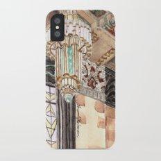 inside the Art Deco spaceship Slim Case iPhone X